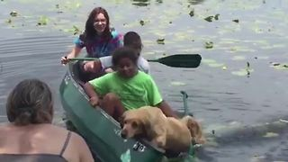 Family Canoe Fail - Will They Sink or Swim? - Video