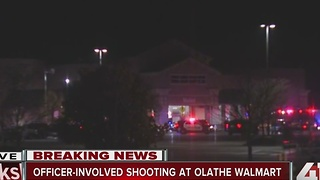 Olathe PD report officer-involved shooting - Video