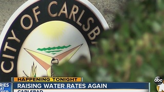 Carlsbad is raising water rates again - Video