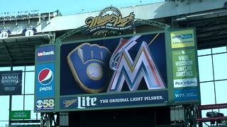 Brewers make Miller Park feel like home for Miami Marlins - Video