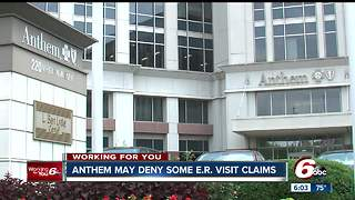 New Anthem policy may not cover your ER visits - Video