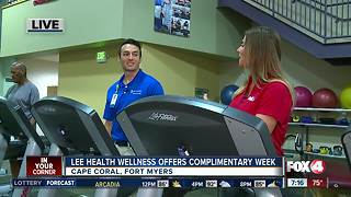 Lee health wellness offers complimentary week - Video