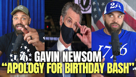 Gavin Newsom Apology For Birthday Bash