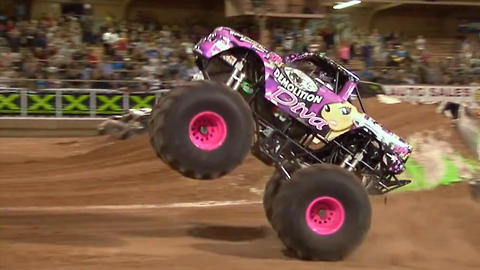Meet The World's First Monster Truck Kids Team