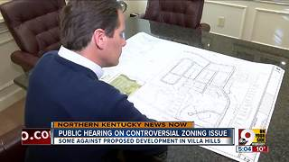 Public hearing on controversial Villa Hills development - Video