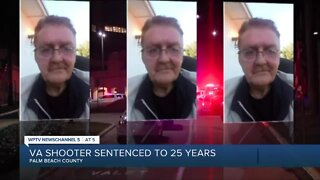 Veteran sentenced 25 years for shooting at West Palm VA Center