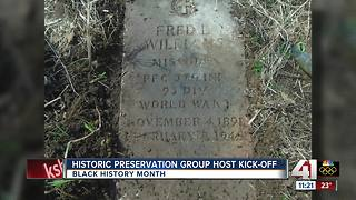 Historic preservation group host kick-off - Video