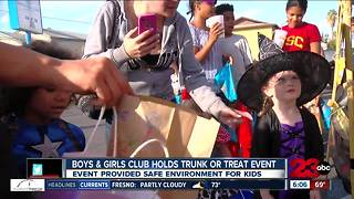 Boys and Girls' Club hosts trunk-or-treat event - Video