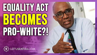 The Equality Act now Protects Against Anti White Discrimination