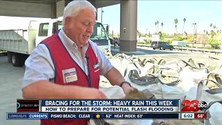 Preparing for potential flooding this week - Video