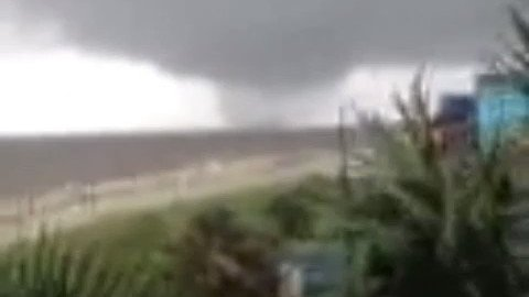 Waterspout Spotted Off Mississippi Coast