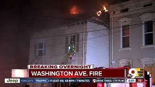 Building a total loss after Newport fire overnight - Video