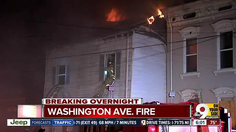 Building a total loss after Newport fire overnight