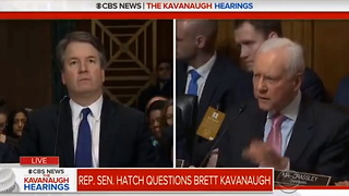 Orrin Hatch and Lindsey Graham Deliver Proof That Dems Orchestrated Kavanaugh Hit Job