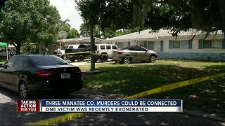Three Manatee Co. murders could be connected - Video