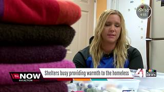 KCK church opens its doors to homeless - Video
