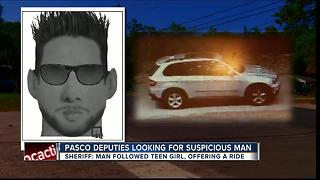 Pasco deputies warning about 'bus stop creeper' - Video