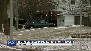 Idle vehicles prime targets for thieves - Video