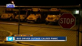 Parents left scrambling after 75 school bus drivers call off work, causing delays - Video