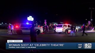 Woman shot during live concert at Celebrity Theatre in Phoenix