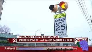 Speeding drivers have Lanier parents on edge