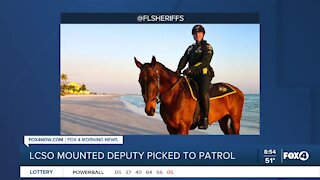 Lee County Deputy Picked to patrol Super Bowl