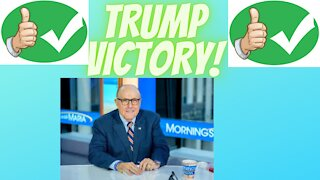 RUDY GIULIANI GIVES SHOCKING STATEMENT TRUMP VICTORY