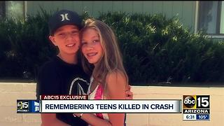 Loved ones remember teens killed in Fountain Hills crash - Video