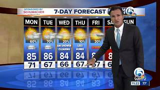 Sunday 11pm weathercast - Video