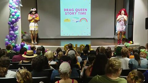 Controversial Drag Queen Story Time held