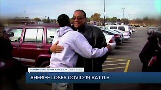 Local leaders react to death of Wayne County Sheriff Benny Napoleon