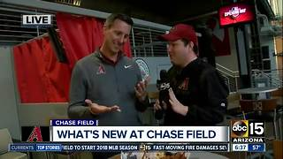 What's new at Chase Field? - Video