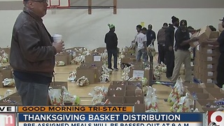 Thanksgiving meals go to families in need, thanks to Prince Hall Masons - Video