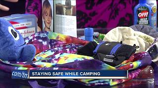 Stay safe during camping this summer - Video
