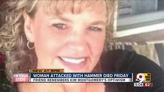 Woman killed in hammer attack