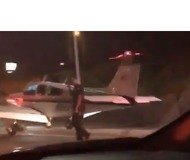 Plane Makes Emergency Landing on Freeway in Costa Mesa - Video