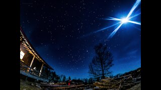 Outstanding 4K mountain cabin time lapse