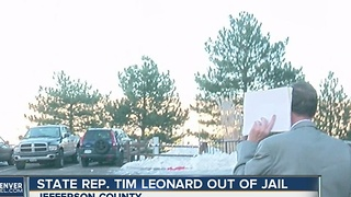 State Rep. Tim Leonard released from jail - Video