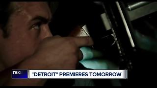 'Detroit' the film premieres Tuesday at the Fox Theatre - Video