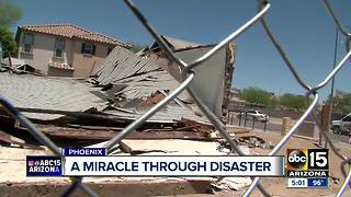 Congregation members react after Phoenix church explosion - Video