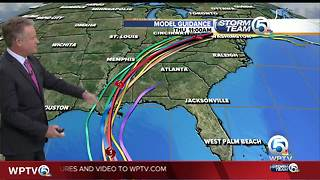 Tropical Storm Nate update - Video