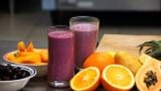 Tofu Recipes - Tofu Fruit Smoothie - Video