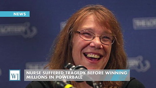 Nurse Suffered Tragedy Before Winning Millions In Powerball - Video
