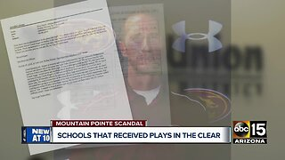 Schools that received plays in Mountain Pointe football scandal in the clear