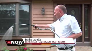 Defying the odds: Brecksville man given months to live now eight years past brain cancer diagnosis - Video