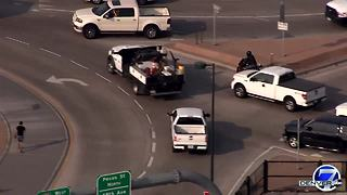 WATCH: Motorcyclist antics called into question after being caught on camera driving through Denver - Video