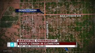 Driver identified in deadly Clewiston Crash - Video