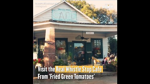 Visit the Real Whistle Stop Cafe From 'Fried Green Tomatoes'