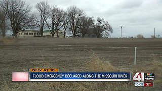 Residents along Missouri River brace for possible flooding