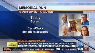 5K run in Annapolis to honor Capital Gazette shooting victims - Video